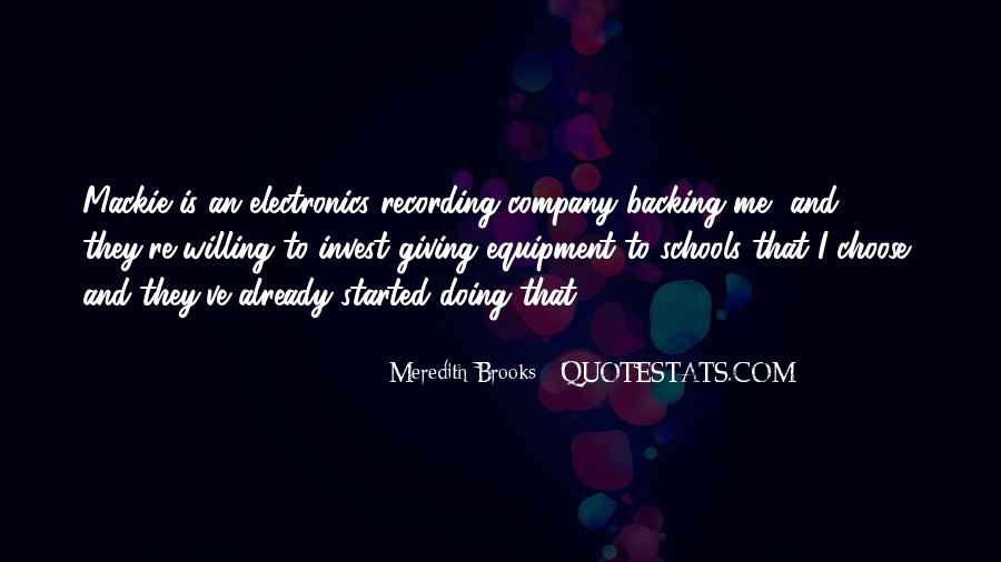 Meredith Brooks Quotes #592441