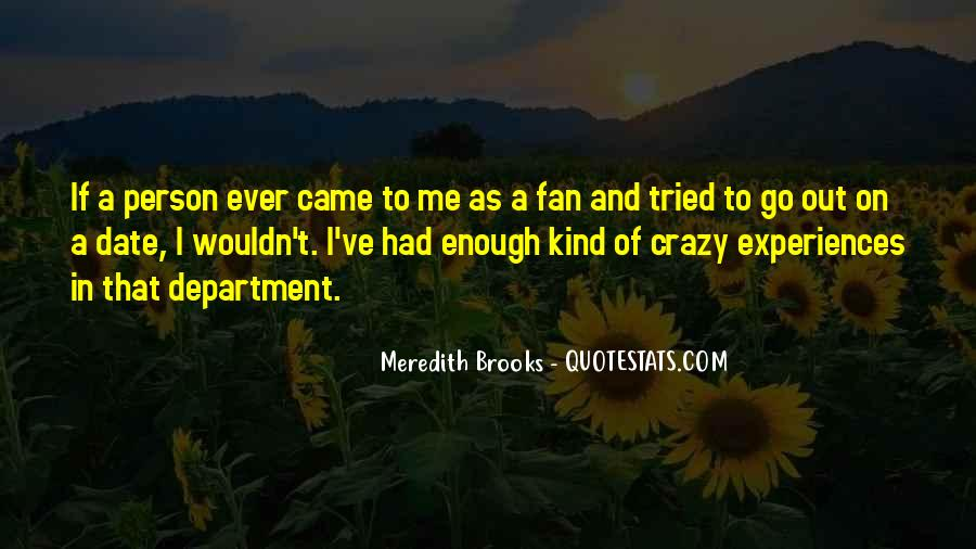 Meredith Brooks Quotes #70510