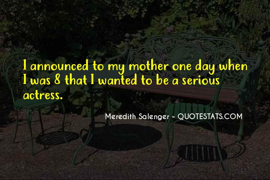 Meredith Salenger Quotes #1722093