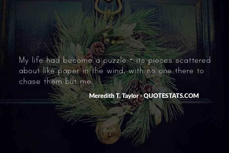 Meredith T. Taylor Quotes #170488