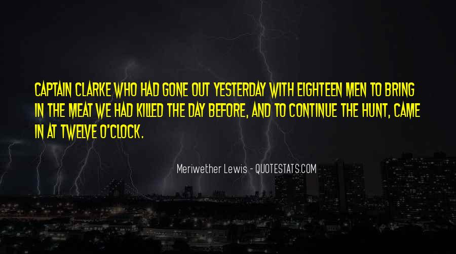 Meriwether Lewis Quotes #604243