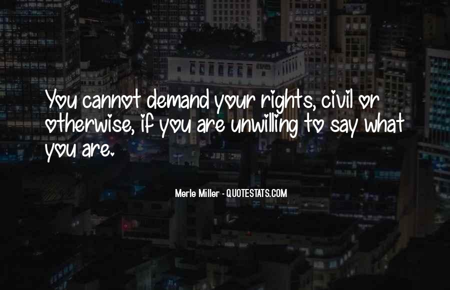 Merle Miller Quotes #1438984