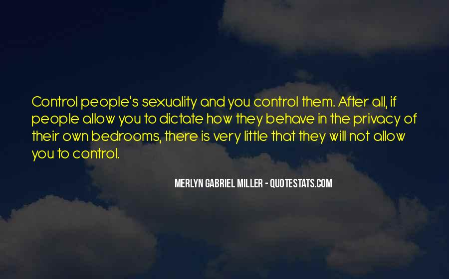 Merlyn Gabriel Miller Quotes #1235977
