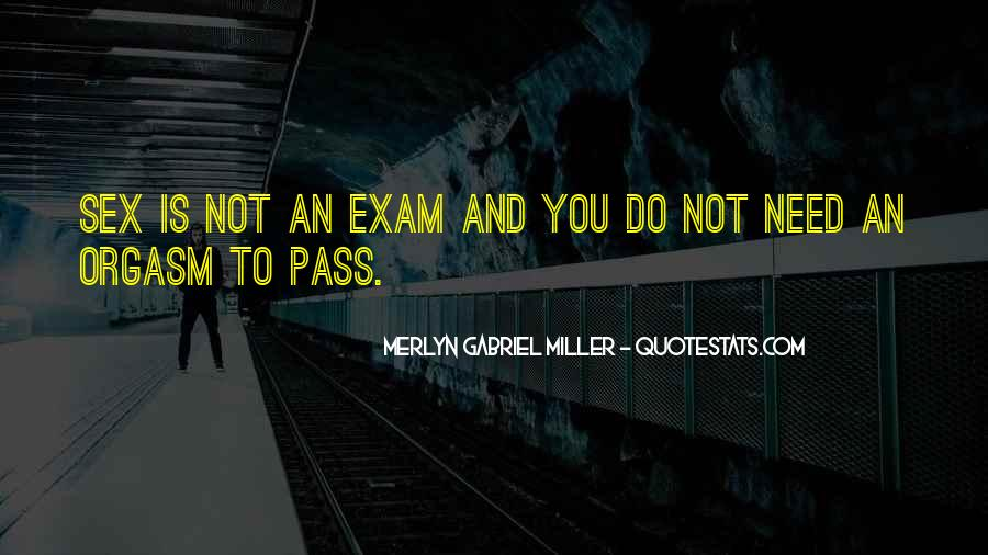 Merlyn Gabriel Miller Quotes #1655295