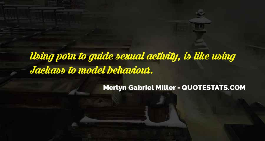 Merlyn Gabriel Miller Quotes #2001