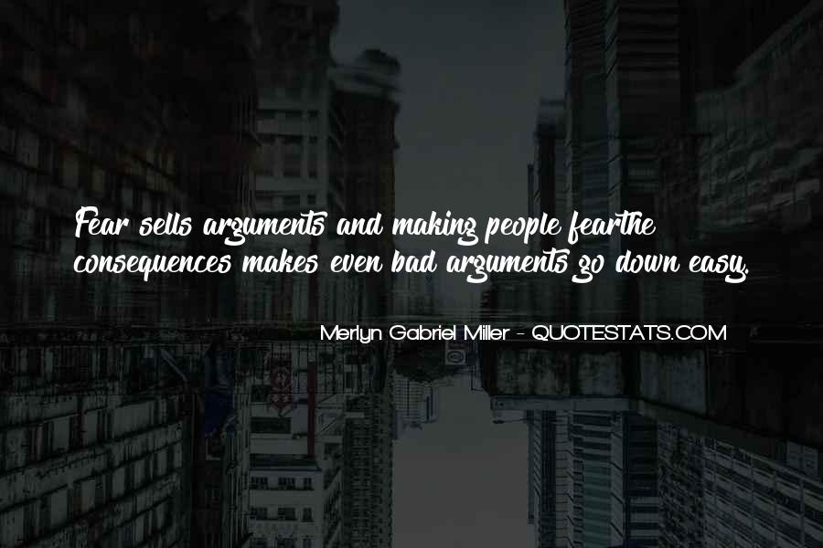 Merlyn Gabriel Miller Quotes #623056