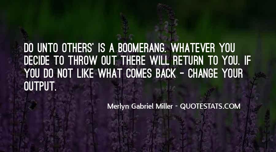 Merlyn Gabriel Miller Quotes #769042