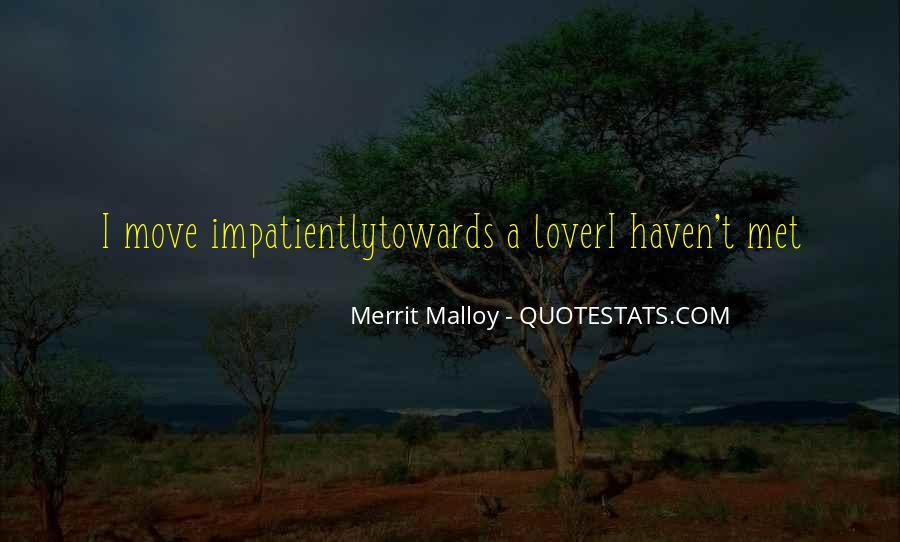 Merrit Malloy Quotes #1059748