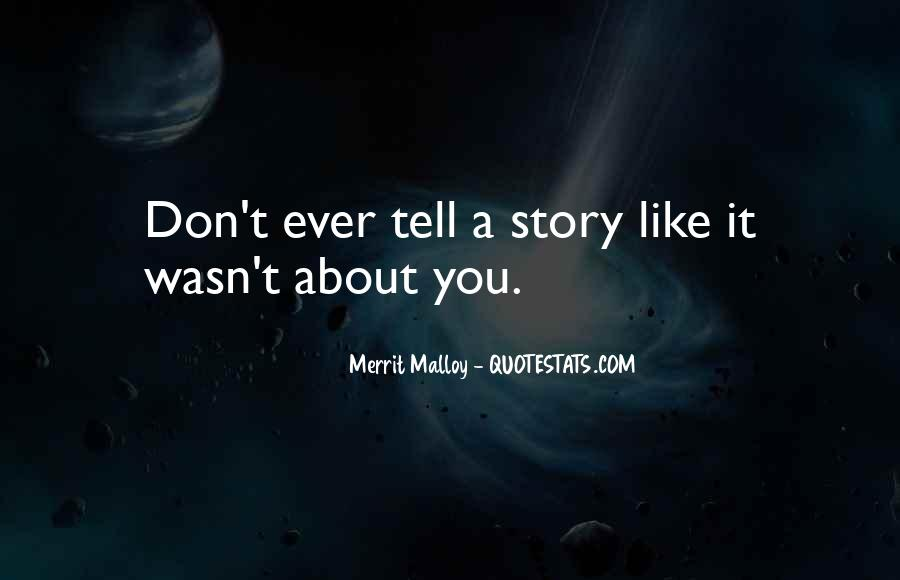 Merrit Malloy Quotes #851941