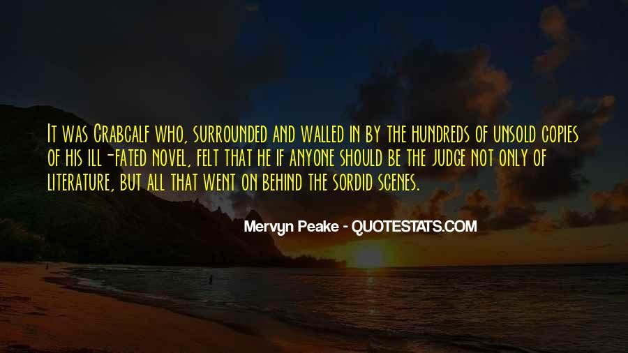 Mervyn Peake Quotes #1007977