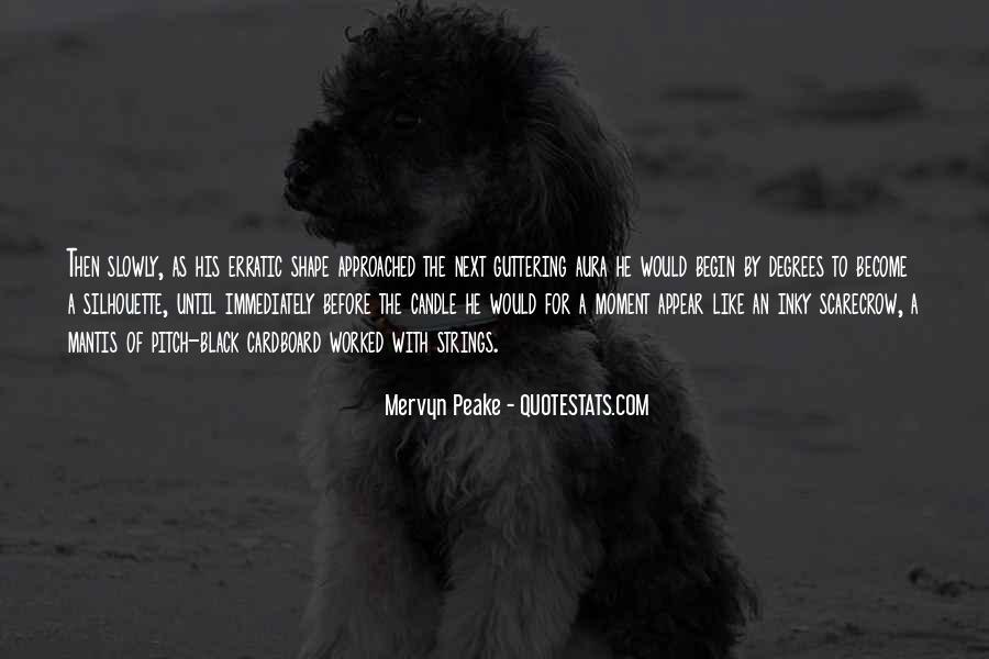 Mervyn Peake Quotes #1063132