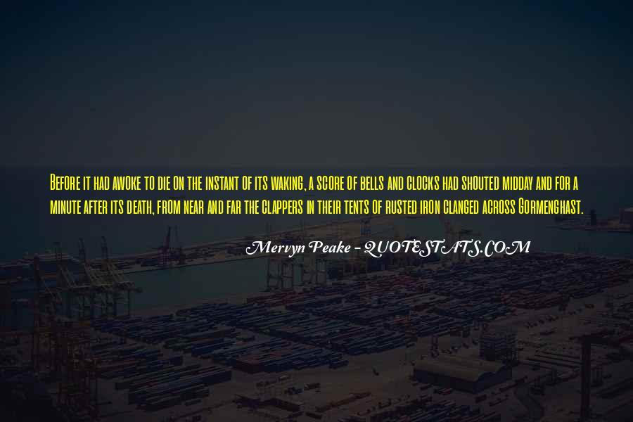 Mervyn Peake Quotes #1070251