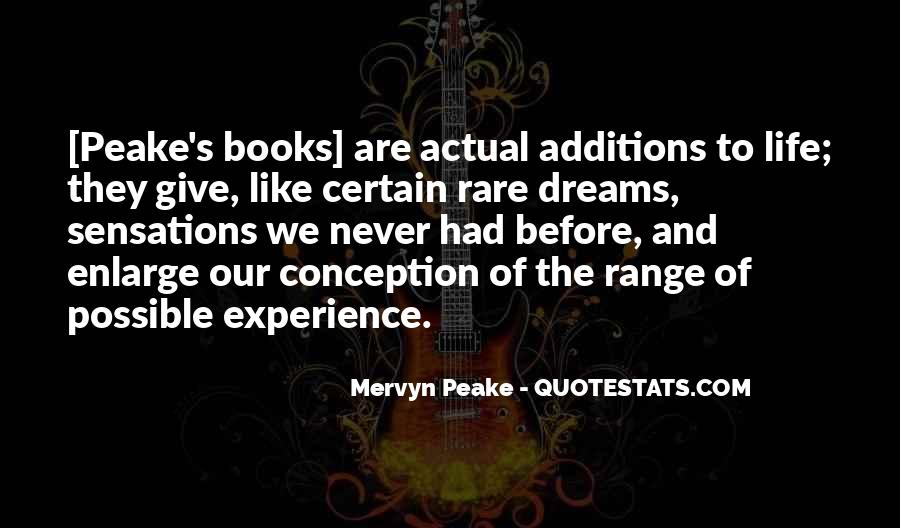 Mervyn Peake Quotes #1144248