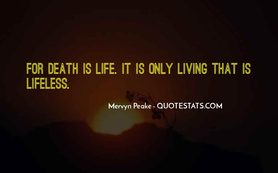 Mervyn Peake Quotes #1278379