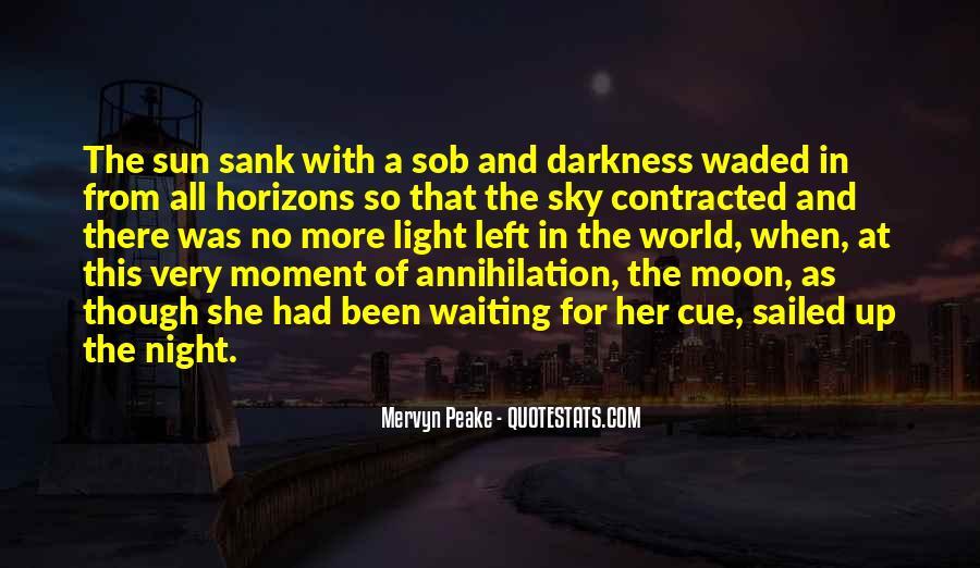 Mervyn Peake Quotes #1315697