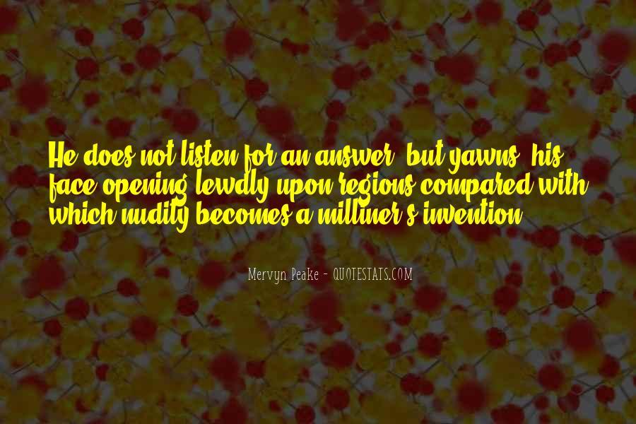 Mervyn Peake Quotes #1391971
