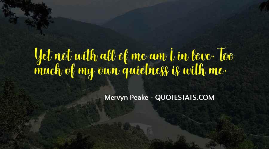Mervyn Peake Quotes #1594327