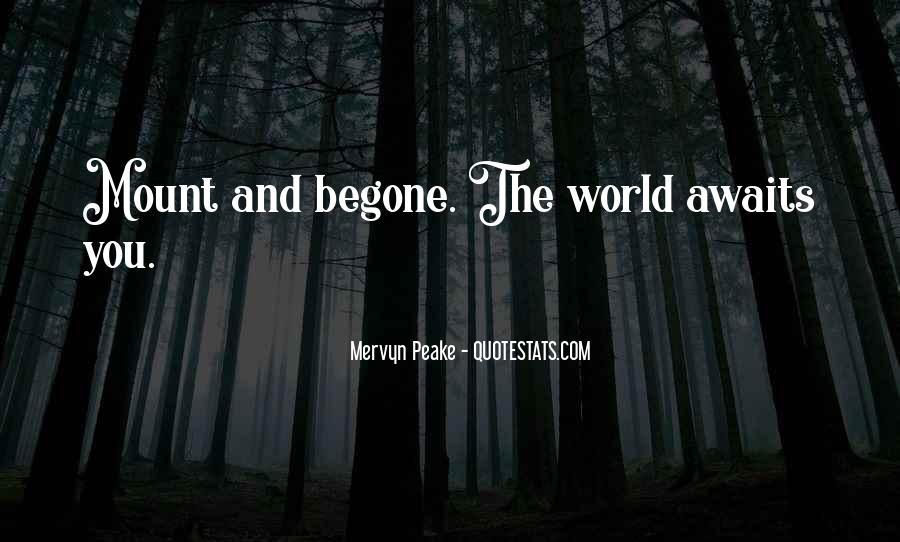 Mervyn Peake Quotes #1793250
