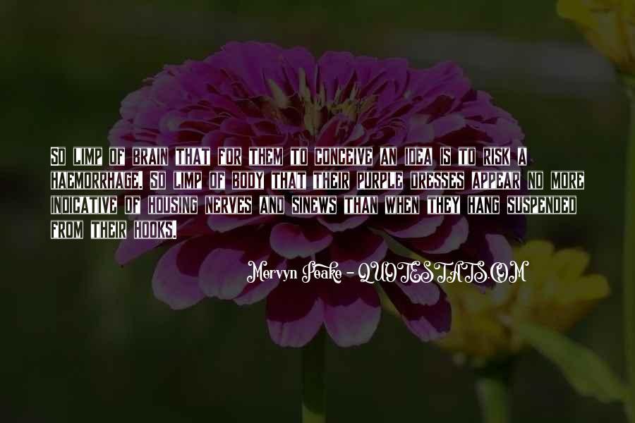 Mervyn Peake Quotes #1858100