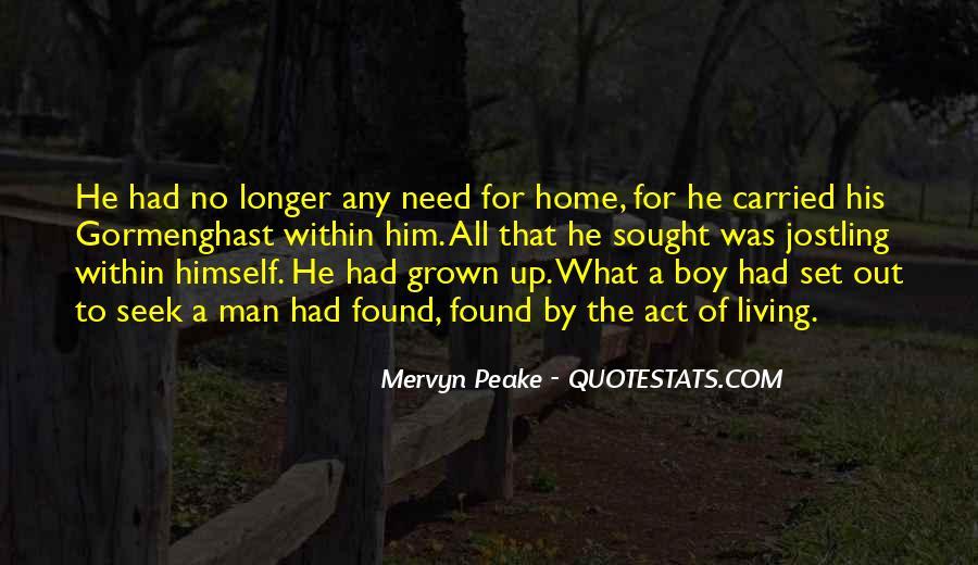 Mervyn Peake Quotes #211213