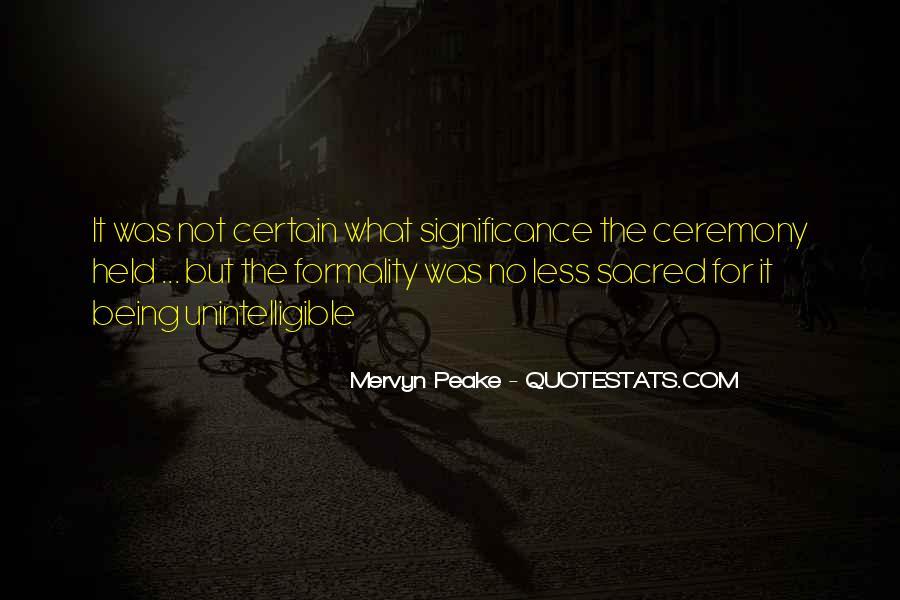 Mervyn Peake Quotes #21733