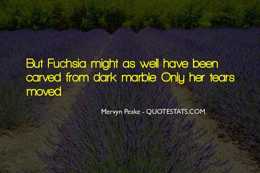 Mervyn Peake Quotes #257425