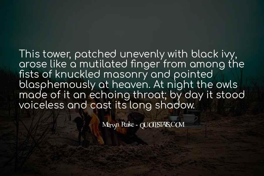 Mervyn Peake Quotes #265740
