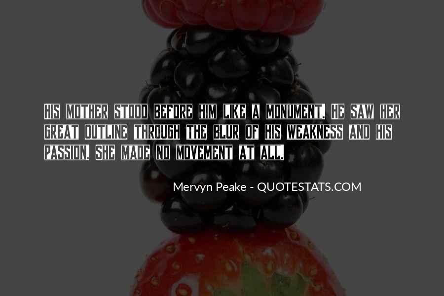 Mervyn Peake Quotes #422314