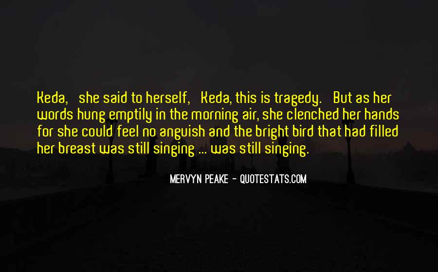 Mervyn Peake Quotes #466587