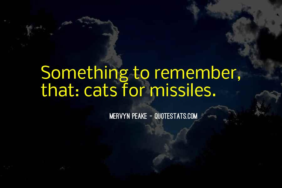 Mervyn Peake Quotes #476489