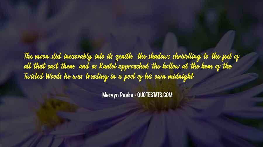 Mervyn Peake Quotes #498511