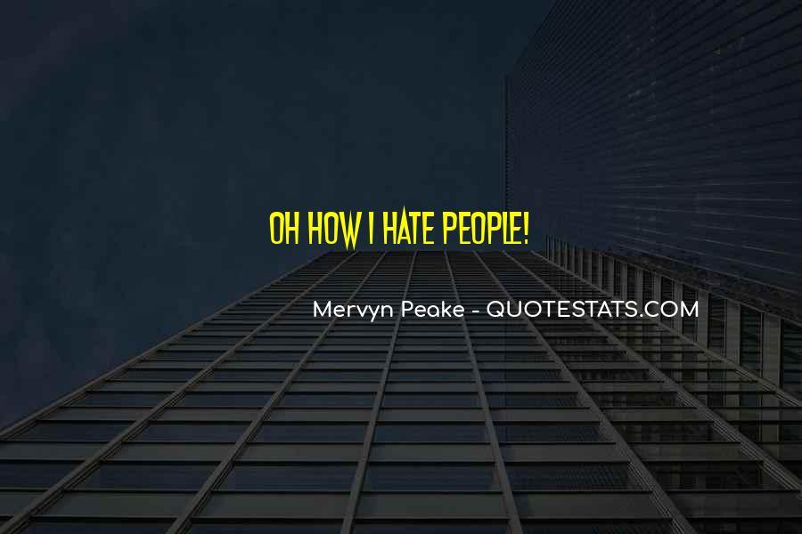 Mervyn Peake Quotes #499345
