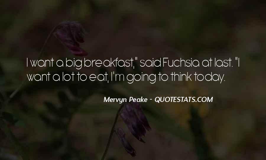 Mervyn Peake Quotes #499622