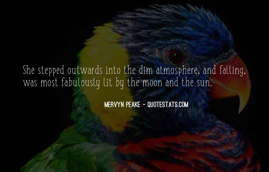 Mervyn Peake Quotes #50698