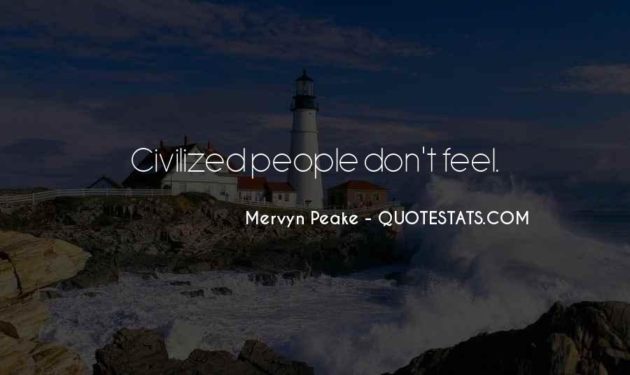 Mervyn Peake Quotes #601172