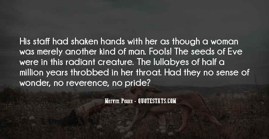 Mervyn Peake Quotes #64926
