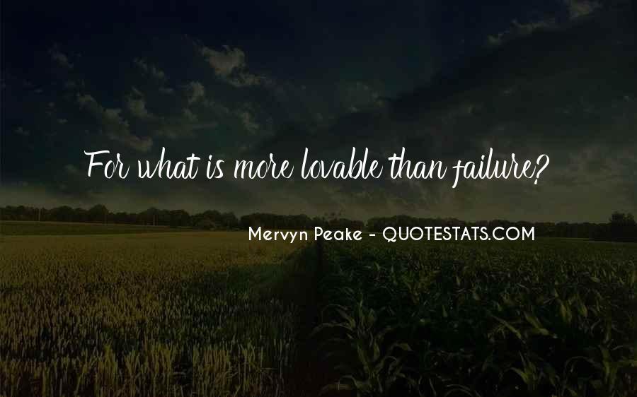 Mervyn Peake Quotes #962938