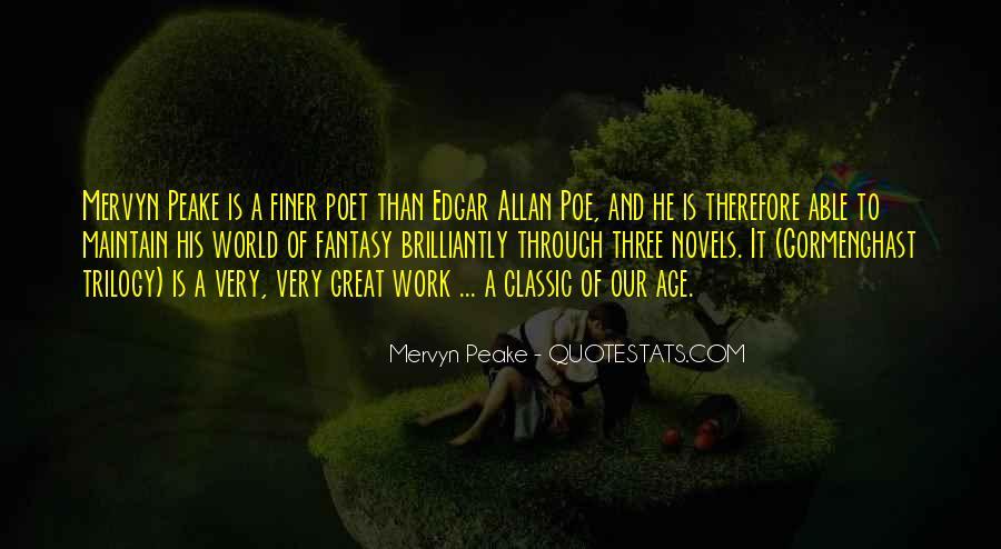 Mervyn Peake Quotes #99941