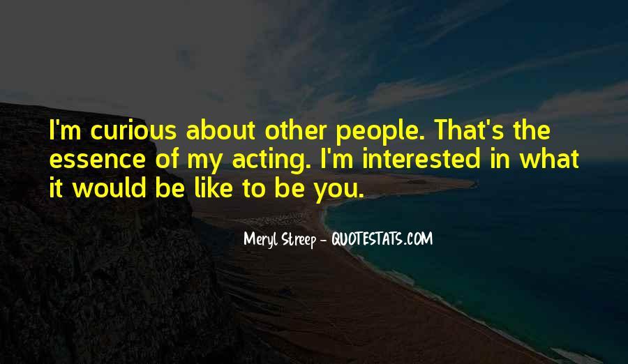 Meryl Streep Quotes #1572815