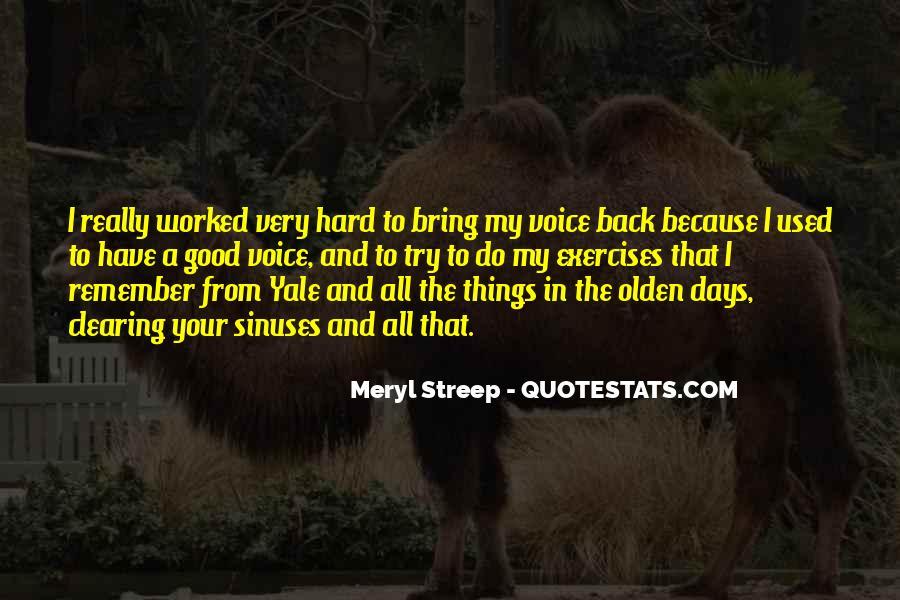 Meryl Streep Quotes #1781411