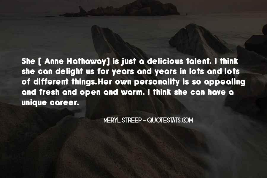 Meryl Streep Quotes #636126