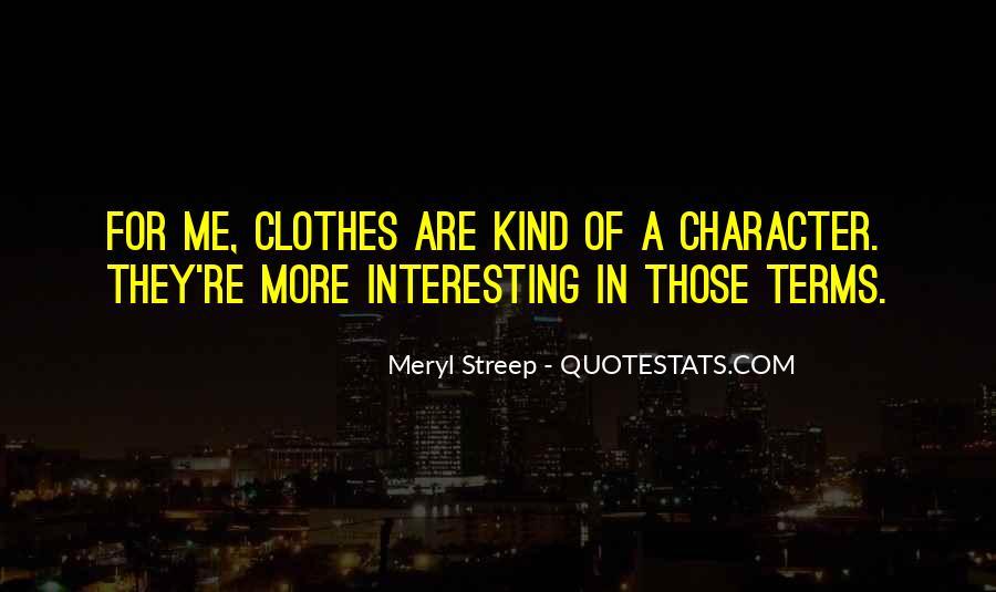 Meryl Streep Quotes #717411