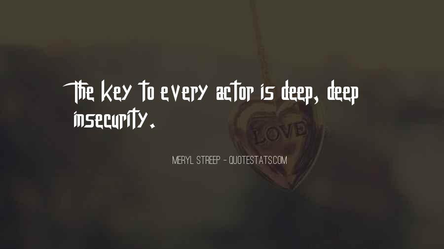 Meryl Streep Quotes #881916