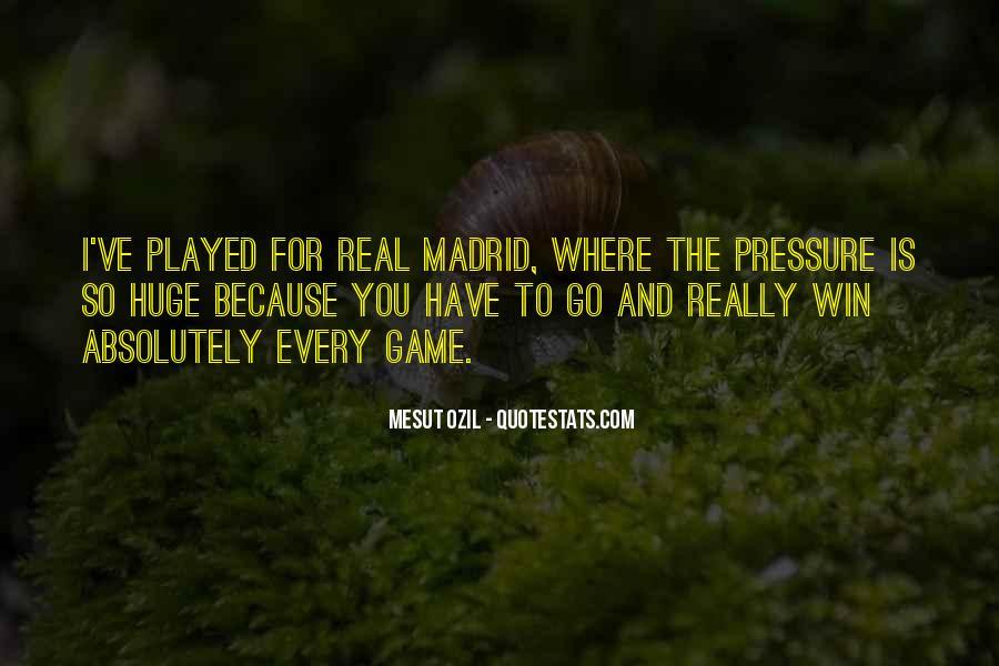 Mesut Ozil Quotes #1413661