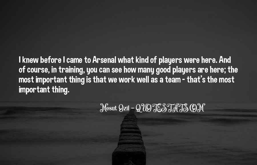 Mesut Ozil Quotes #1513016