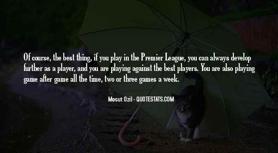 Mesut Ozil Quotes #487154