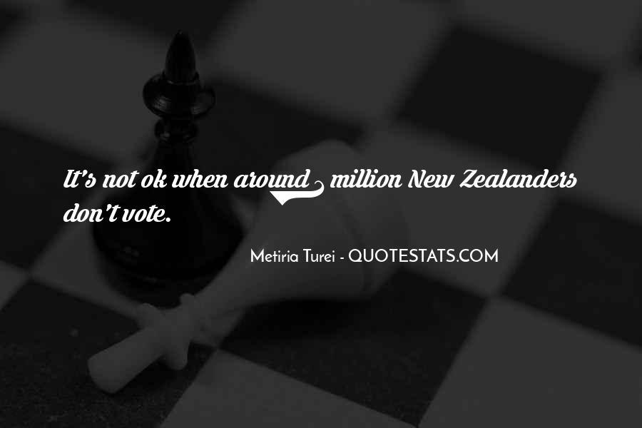 Metiria Turei Quotes #1125014