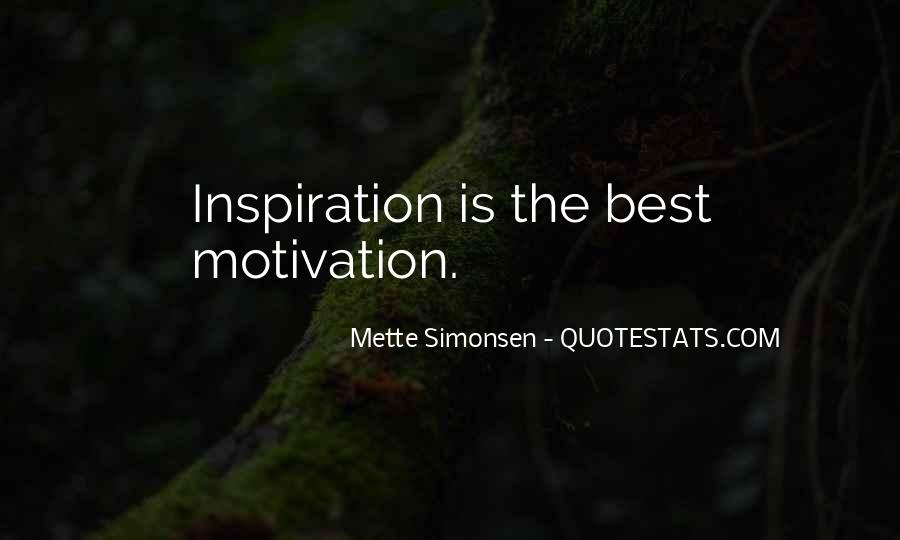 Mette Simonsen Quotes #750785
