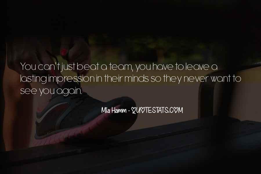 Mia Hamm Quotes #1066212