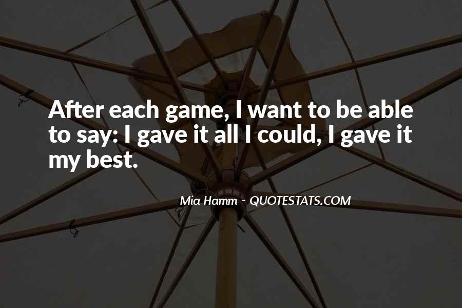 Mia Hamm Quotes #115296